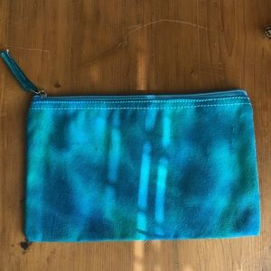 Medium tie dye canvas bag